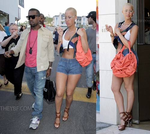pics of amber rose with hair. Lex said, �Amber Rose (Kanye#39;s
