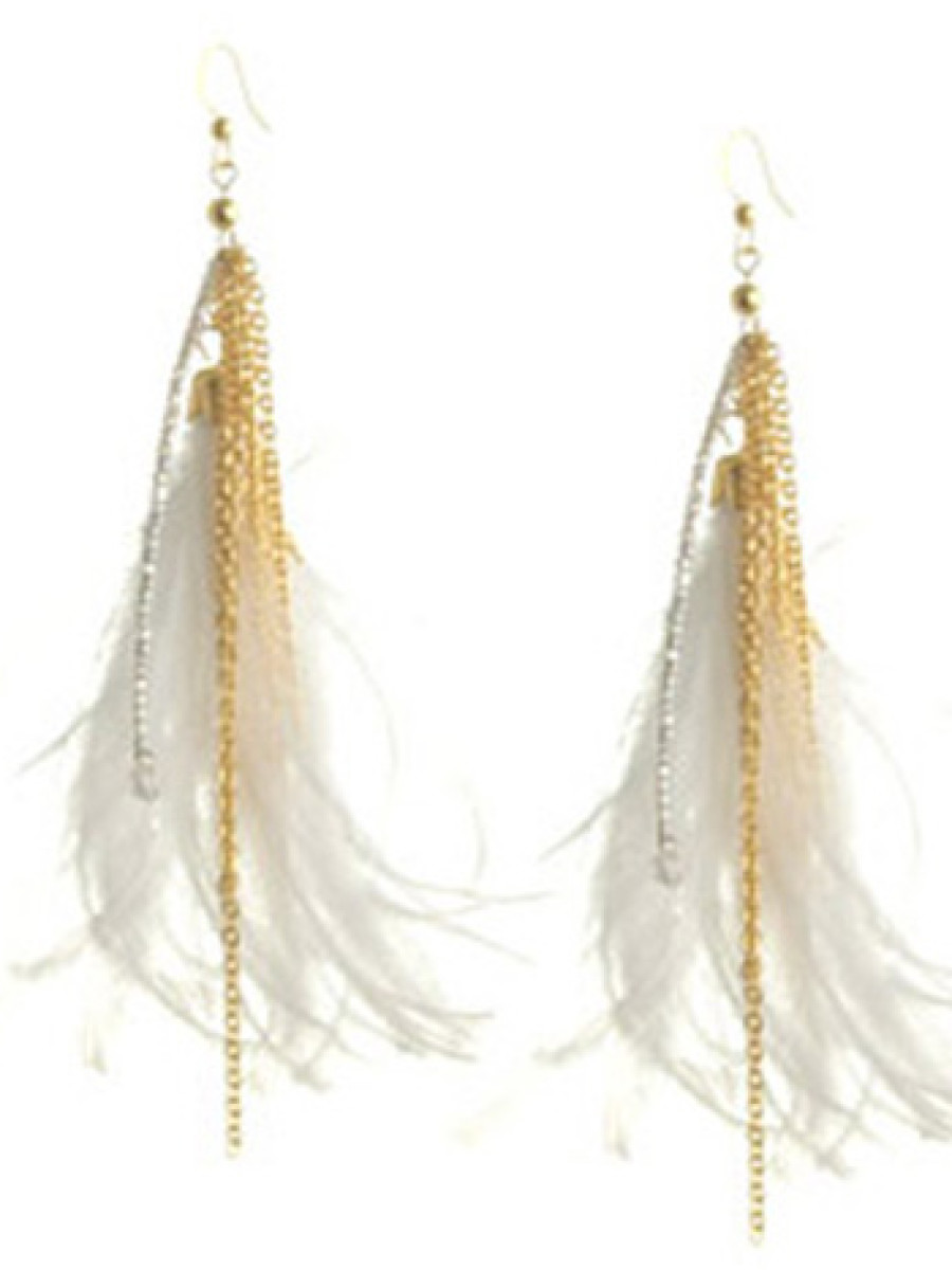 arden-b-feather-and-chain-linear-earrings1