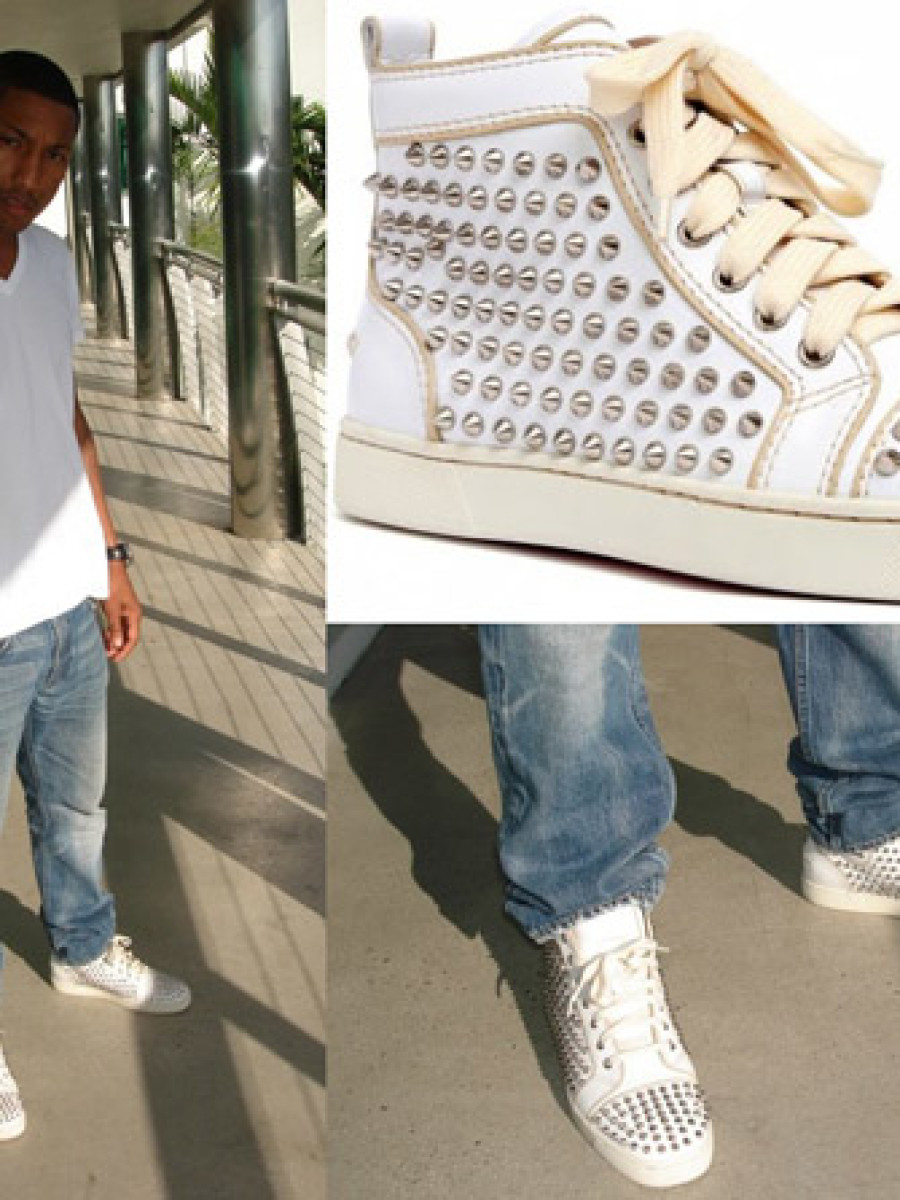 Pharrell Christian Louboutin Louis Studded Sneakers