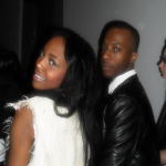 LaVonne and I at Bebe show