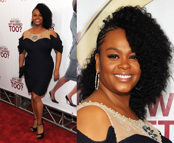 Jill Scott Hair Styles: Hot! Or Hmm…: Jill Scott At The Premiere Of Why Did I Get