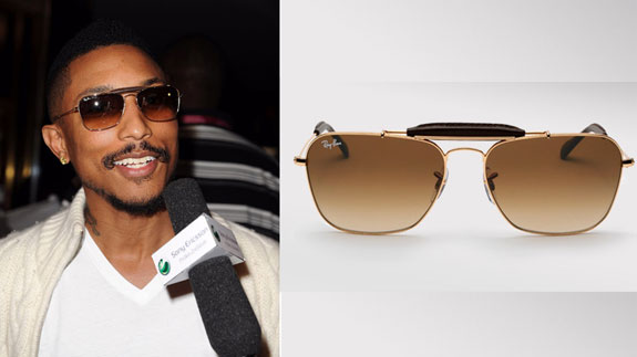 lil jon without sunglasses. Ray-Ban Caravan Sunglasses