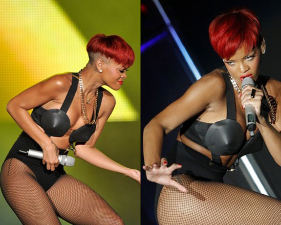 Rihanna's New Red Hair Color