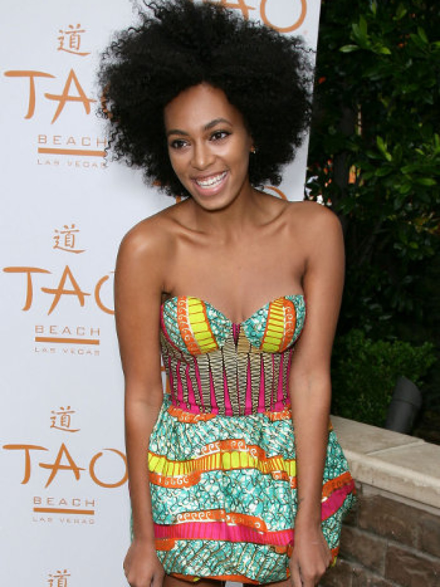 Solange Knowles Boxing Kitten