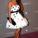 Christina Milian at The Cosmopolitan Grand Opening and New Years Eve Celebration with Jay-Z and Coldplay