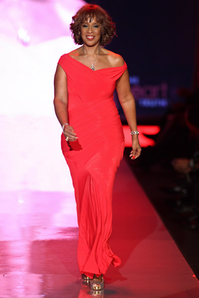 Gayle King the Heart Truth's Red Dress Collection New york Fashion Week Fall 2011
