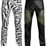 Jeans, $70; Leather Pants, $299