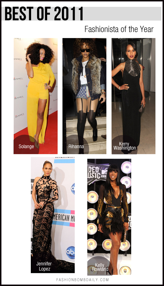 Best of 2011 Fashionista of the Year
