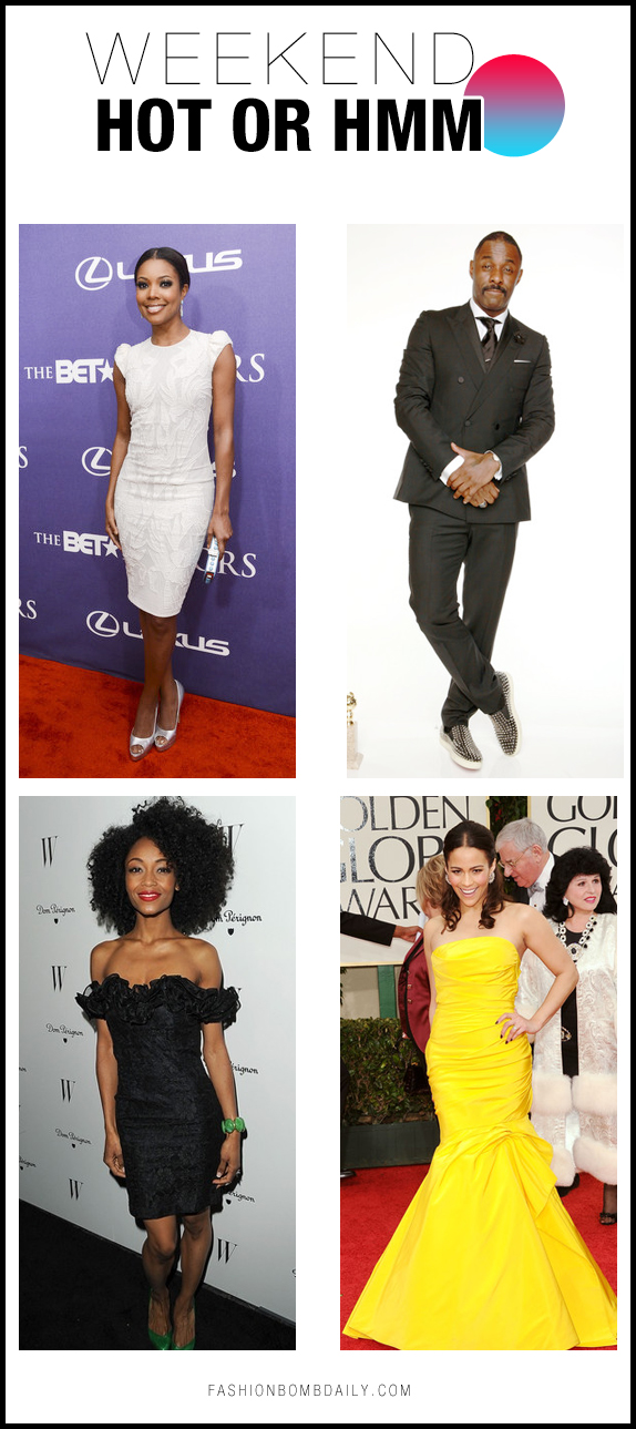 BET Honors Golden Globe Yaya Idris Elba Gabrielle Union Paula Patton