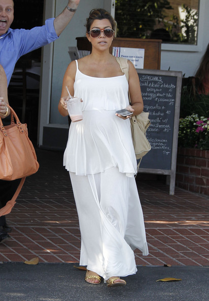 kourtney-kardashian-fred-segal-west-hollywood-rachel-pally-isela-maxi-dress