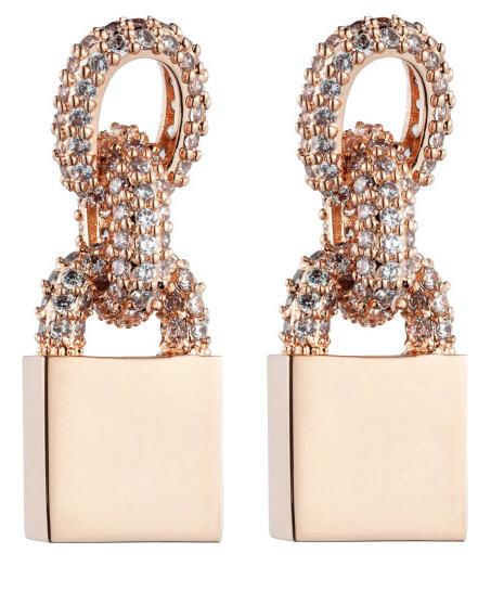 eddie-borgo-holiday-2012-short-pave-chain-small-padlock-earrings