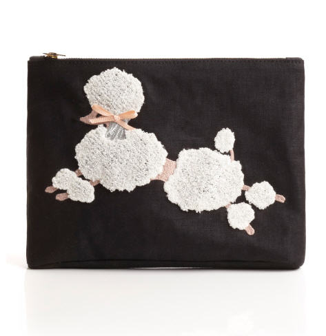 charlotte-olympia-spring-2013-black-poodle-pouch