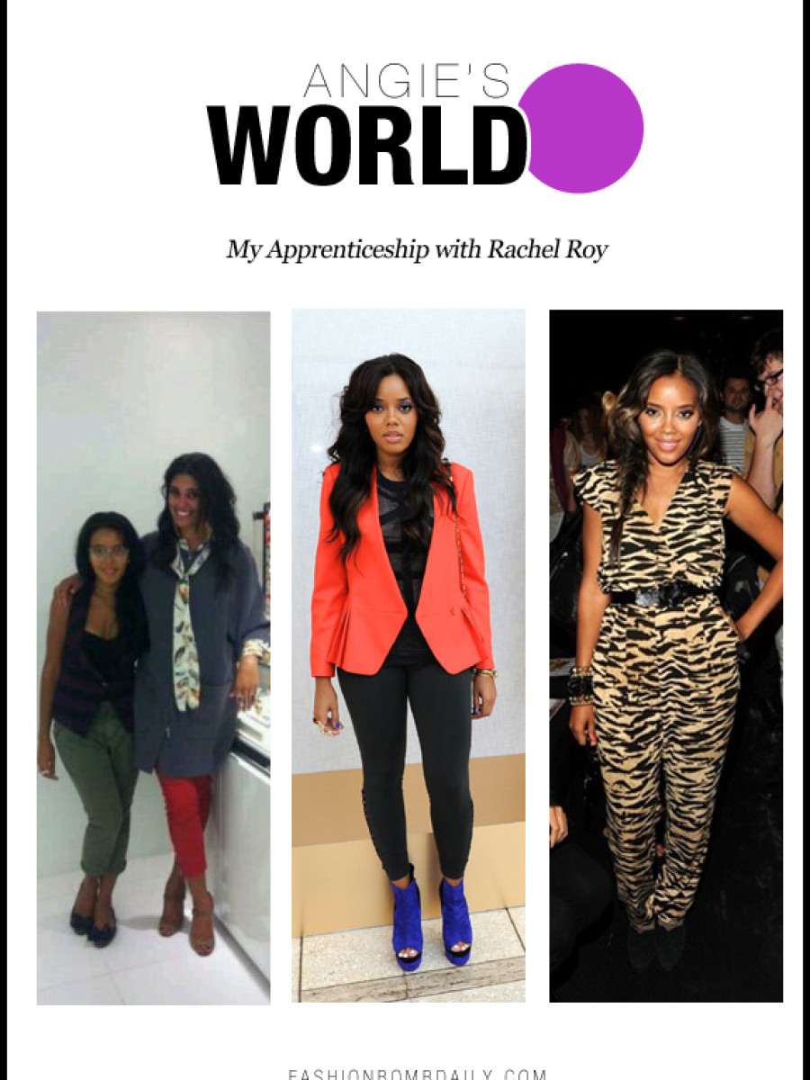 Angies World-112712-My Apprenticeship with Rachel Roy
