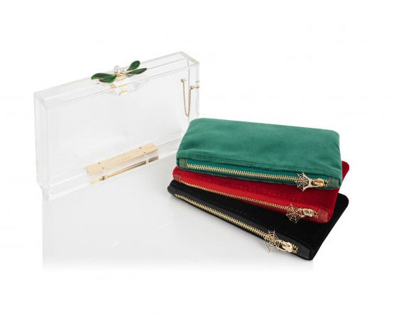 charlotte-olympia-christmas-collection-mistletoe-pandora-clutch