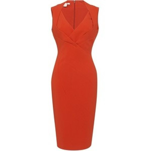 beyonce tangerine coral antonio berardi dress superbowl