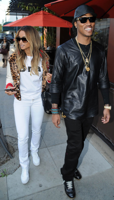 ciara future 04  Ciara's Crustacean Restaurant Joyrich Leopard Varsity Jacket T.I and Tiny-Ciara-and-Future-Gossipwelove3