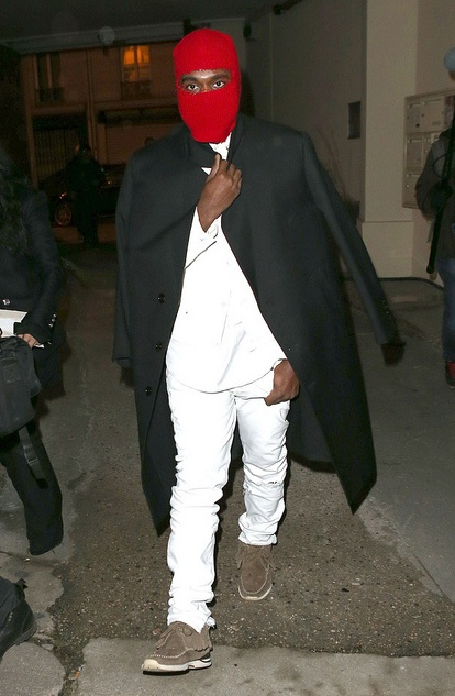 hot-or-hmm-Kanye-wests-maison-martin-margiela-red-ski-mask-and-vizim-sneakers