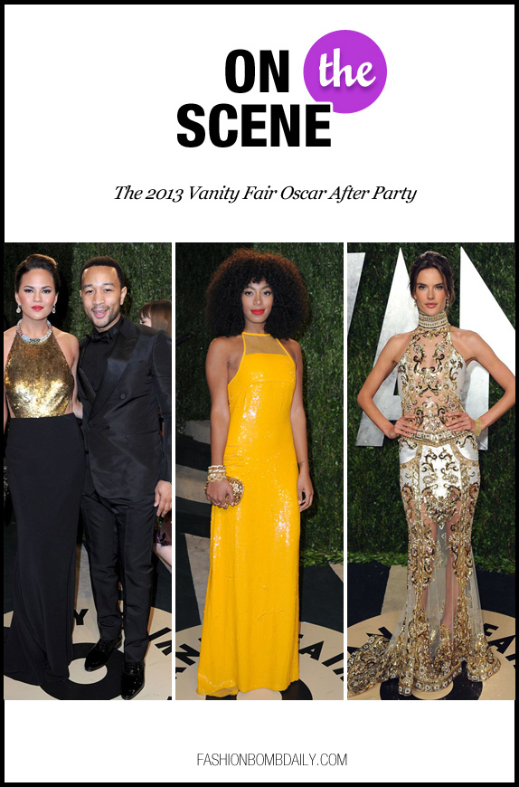 On the Scene-022513- The 2013 Vanity Fair Oscar After Party