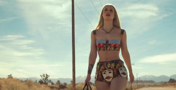 0  Iggy Azalea's Work Music Video Dolce & Gabbana and Adidas x Jeremy Scott Looks