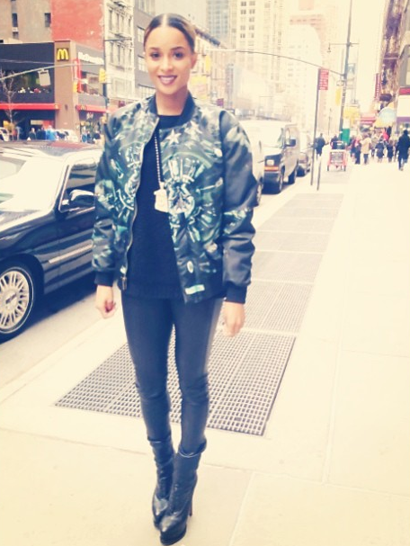 Ciara-New-York-City-Givenchy-Bomber-Givenchy-clutch