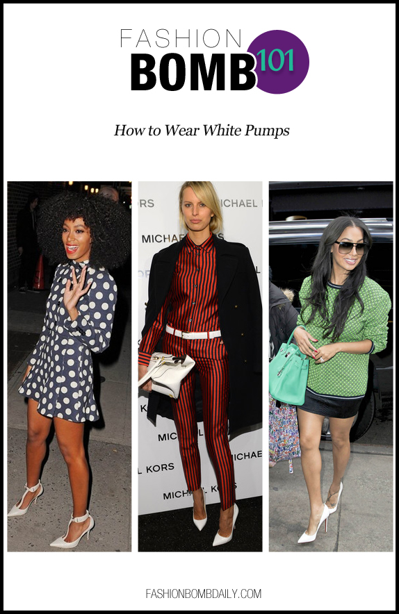 fbomb101-030413-How to Wear White Pumps