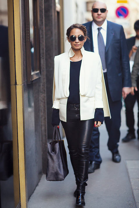 nicole-richie-montaigne-market-paris-esteban-cortazar-cape-back-duchesse-satin-jacket