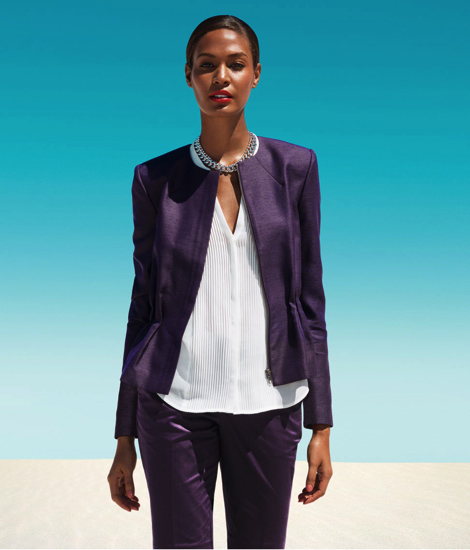 7 Joan Smalls for H&M Lookbook Spring 2013