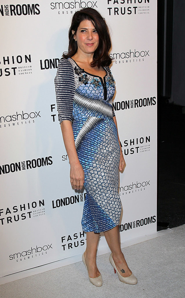 marisa-tomei-london-show-rooms-la-peter-pilotto-spring-2012-dress