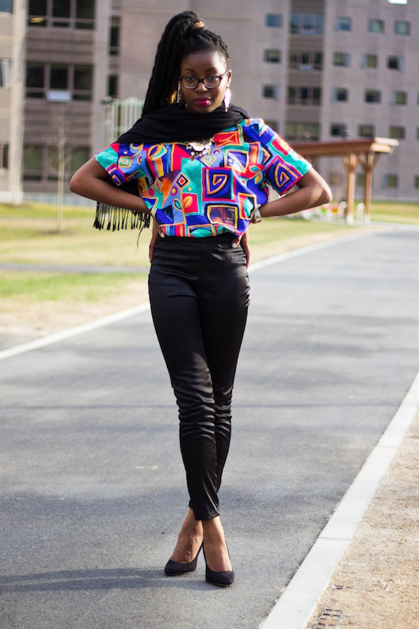 black fashion how do you wear it spring 2013 90's revival