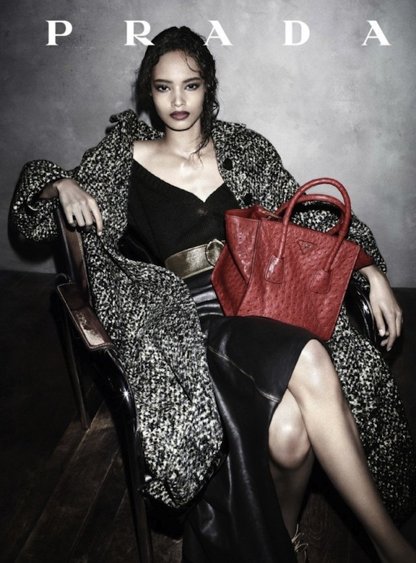 Prada Casts Black Model in Ad Campaign for the First Time in Almost Two Decades Maiaika Firth