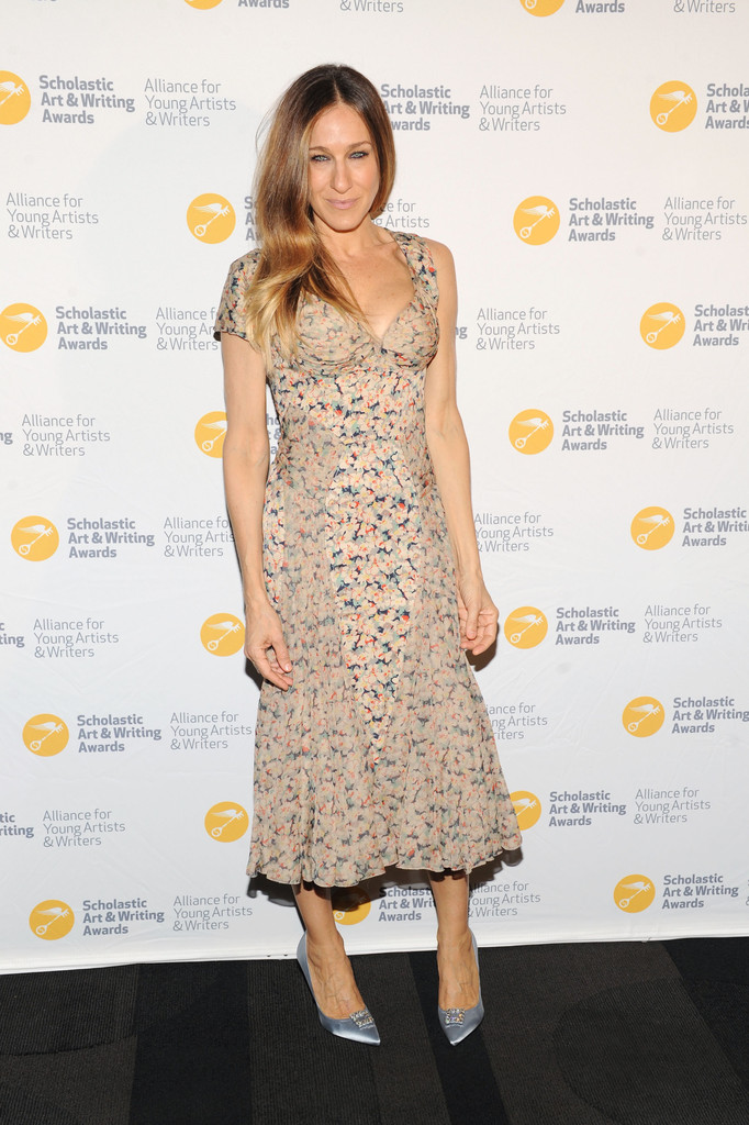 Sarah-Jessica-Parker-Zac-Posen-2013-Alliance-For-Young-Artists-Writers