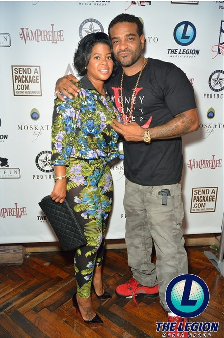 Chrissy Lampkin supported her boo Jim Jones at the Griffin in New York