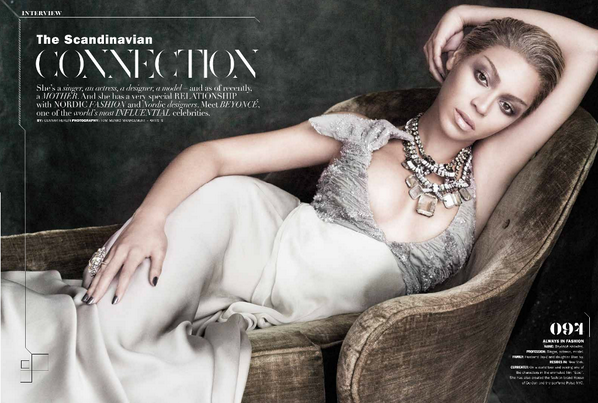 1  Beyonce for Z Lifestyle Magazine July:August 2013
