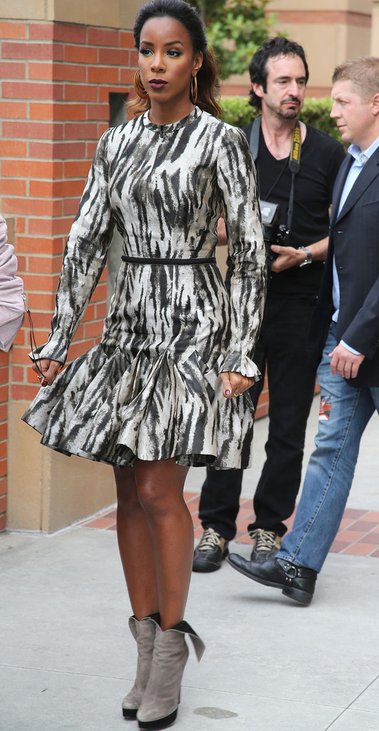 kelly-rowland-x-factor-la-day-two-zebra-print-dress-alaia-wing-booties-