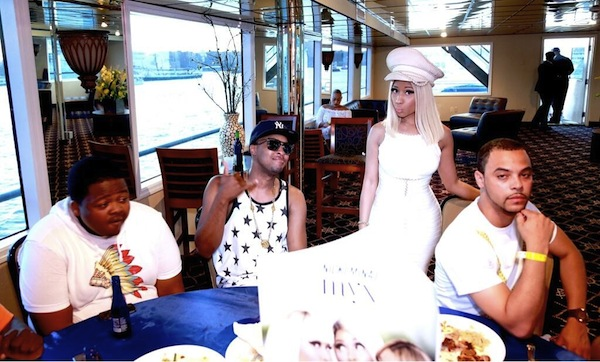 nicki minaj boat party dress