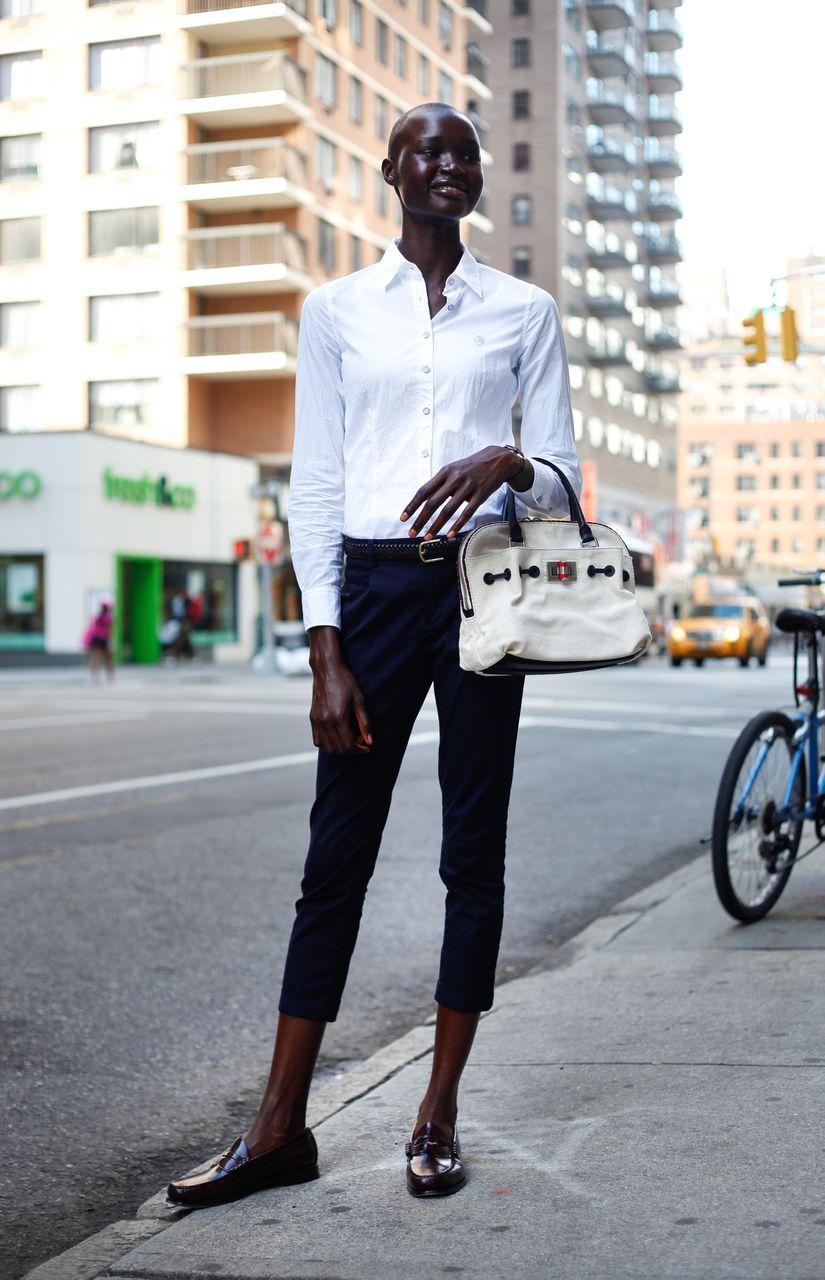 Real New York Street Style Ataui Deng Danielle Zooey