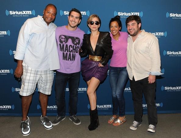 4e089383d611 Hot! or Hmm… Lady Gaga s SiriusXM Studio Tom Ford Samuele Sunglasses ...