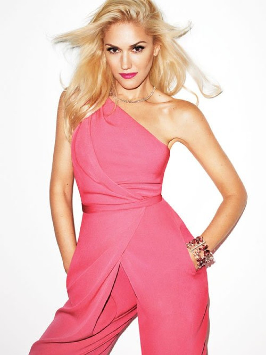 gwen stefani for harpers bazaar fashion bomb daily