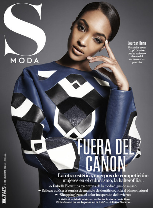 00 Jourdan Dunn by Alan Gelati for S Moda November 2013