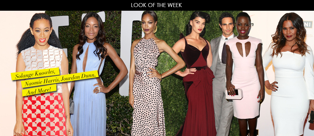 Look Of The Week- Solange Knowles, Naomie Harris, Jourdan Dunn, And More!
