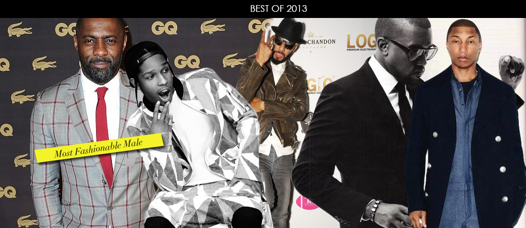 Best Of 2013-Most Fashionable Male
