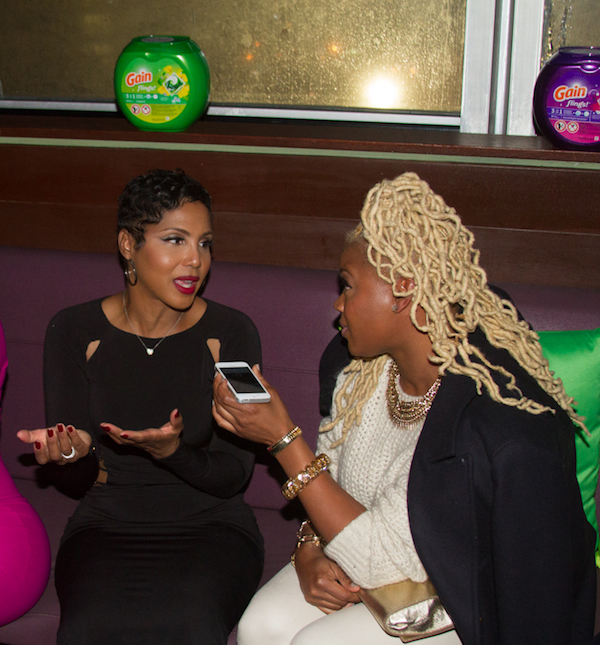 Chatting with the Braxtons about Diet, Hair Care, and Wardrobe Malfunctions at Gain's Gain Flings Event toni claire sulmers