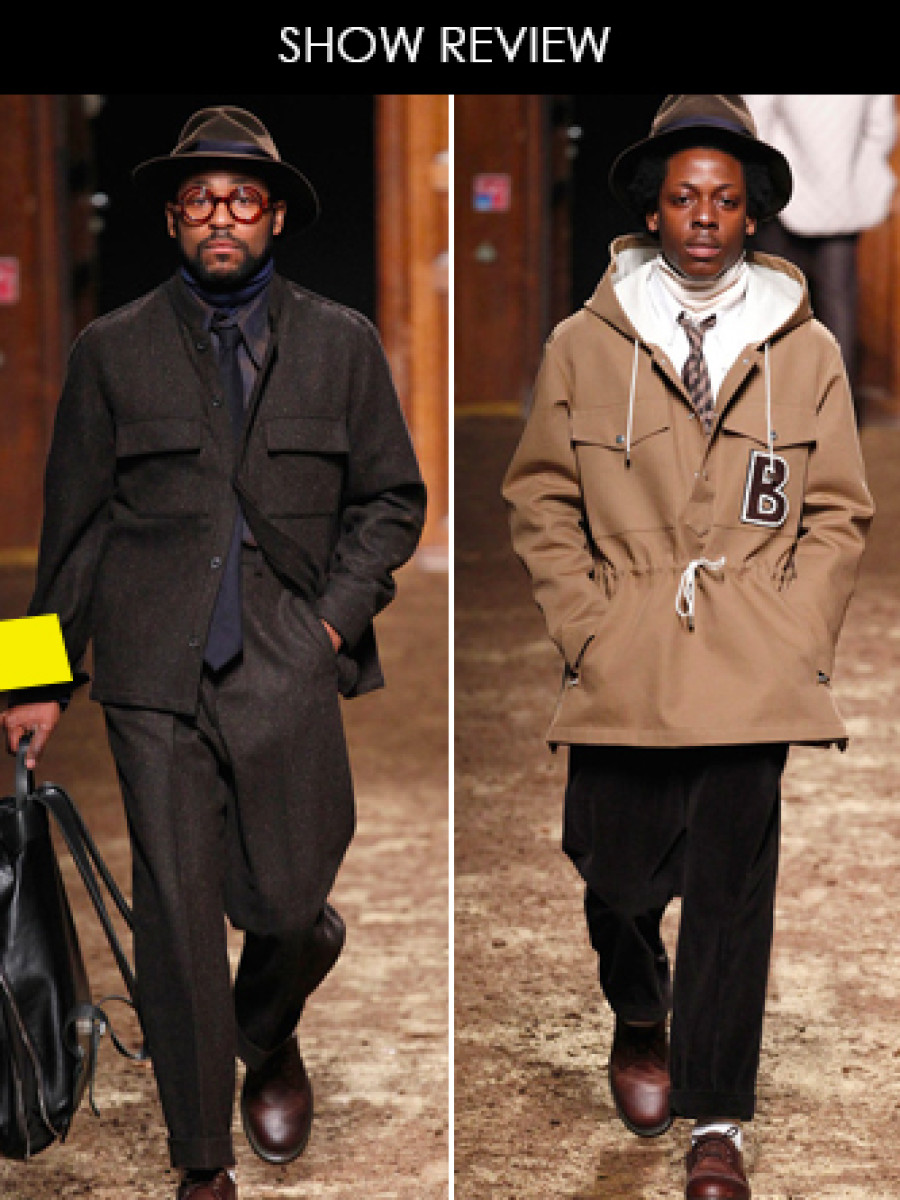 Show Review- Umit Benan Fall 2014 Menswear