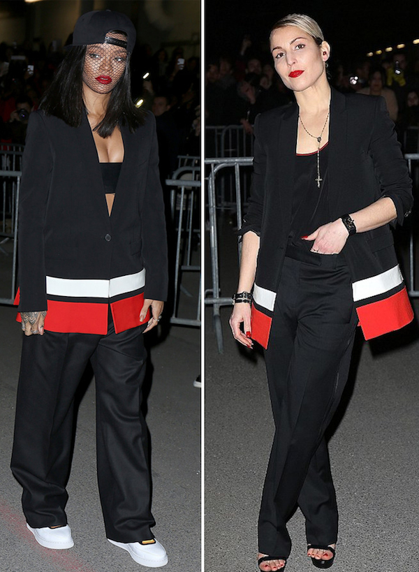 noomi-rapace-rihanna-pre-fall-2014-striped-blazer-givenchy