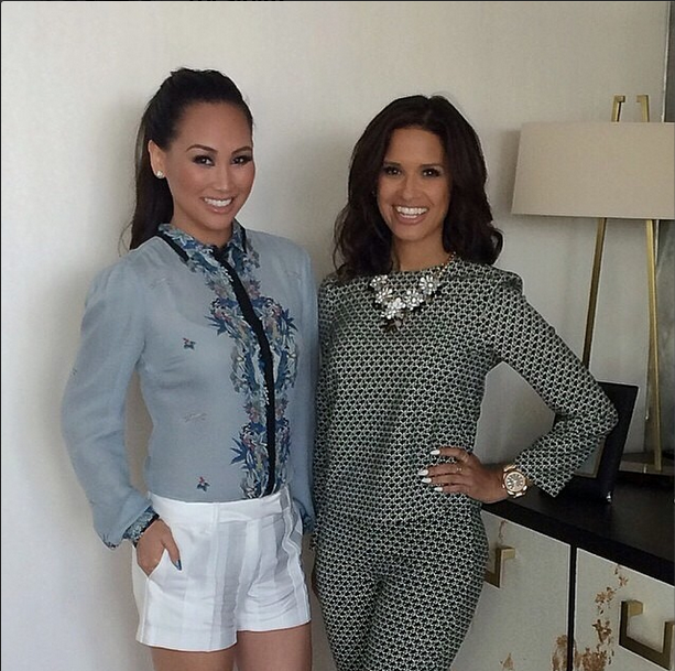 Dorothy Wang and Rocsi Diaz