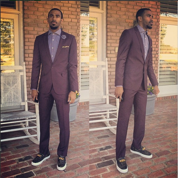 Mike Conley before Grizzlies vs Heat game
