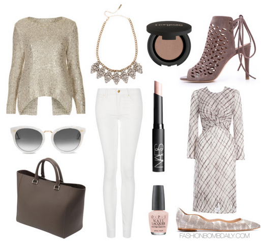 What to Wear to a Birthday Dinner Joie Clayton Cutout Booties Mulberry  Willow Tote Zimmermann Carousel