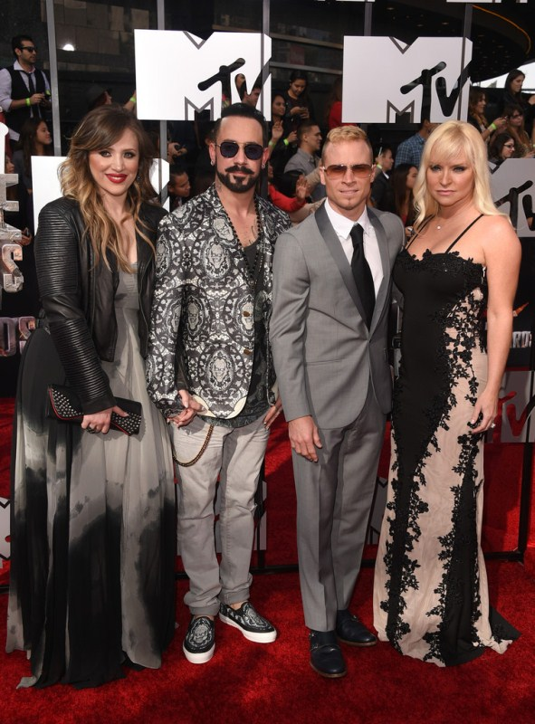 aj-mclean-brian-littrell-2014-mtv-movie-awards-alexander-mcqueen-blazer-sneakers