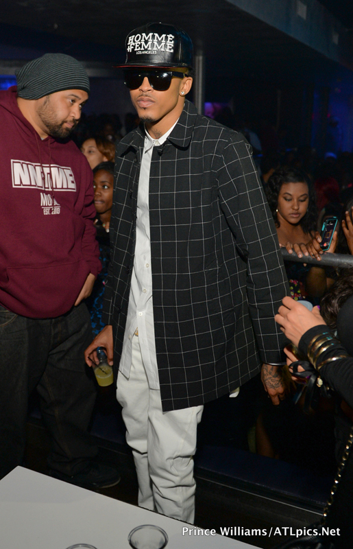 August Alsina attends his  Album release at Prive
