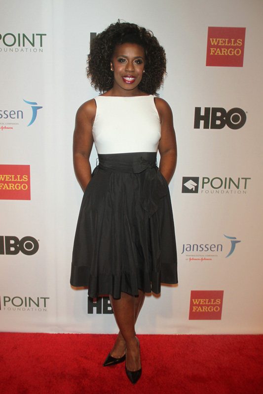 Uzo Aduba Attends Point Foundation's Point Honors New York Gala 2014